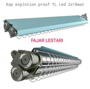 Kap Explotion Proof TL Led 2x18w
