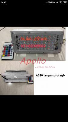 Lampu Sorot Led RGB Remote Apollo
