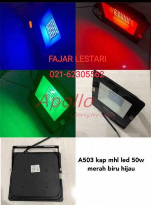 Lampu Sorot Warna Led 50w A503 Apollo