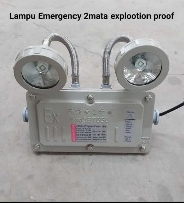 Lampu Emergency Explotion Proof 2 mata