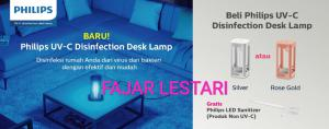 Philips UV-C Disinfection Desk Lamp