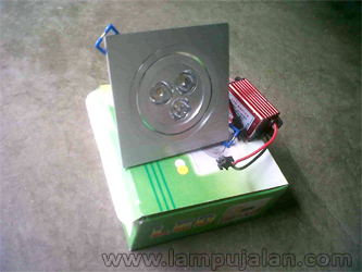 Lampu Down Light Model Kotak LED 3 Watt