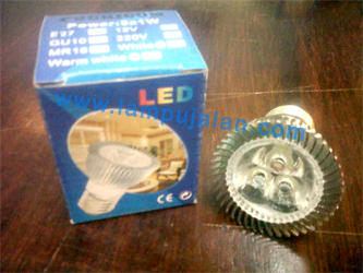 Lampu LED 3 Watt E27