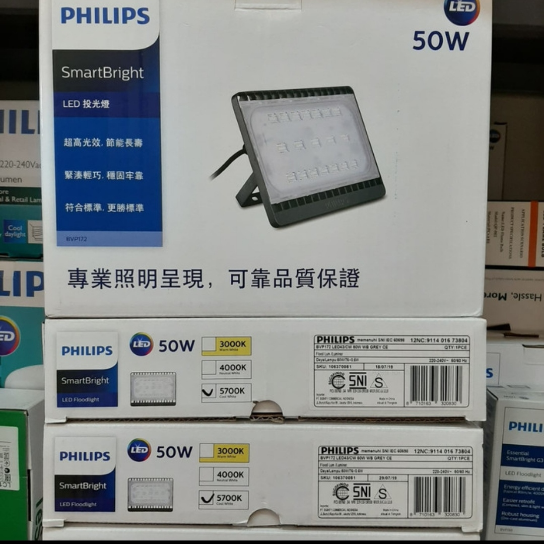 Floodlight BVP 172 led 50w Philips